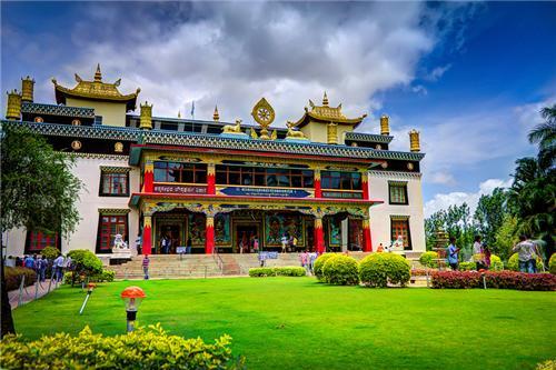 Bylakuppe Monastery, Kodagu