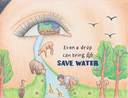 Saving Water : A Social Awareness Initiative
